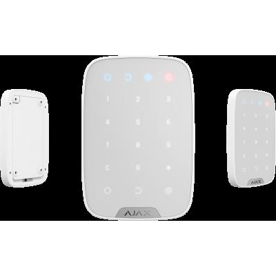 لوحة تحكم لاسلكية من AJAX باللمس لون ابيض و اسود SCO035