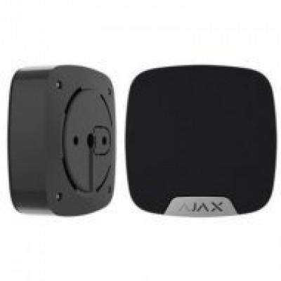 صافرة انذار داخلية لاسلكية من شركة اجاكس لون اسود و ابيض SCO030